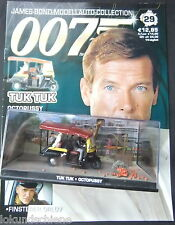 TUK  TUK 007 James Bond 1:43  mit Heft . #029 Octopussy