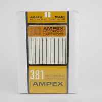 SEALED Ampex 381 8 Track Recording Cartridge 80 Minute Blank Tape