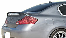PAINTED REAR WING SPOILER FOR AN INFINITI G35/G37 4-DOOR LIP 2007-2013