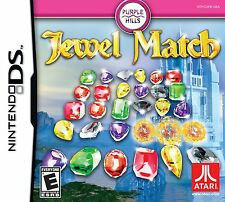 Jewel Match  (Nintendo DS, 2011) *New, Sealed*