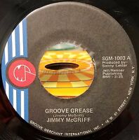 Jimmy Mcgriff Groove Grease/Mr. Lucky Jazz Funk 45 NM- Groove Merchant 1003