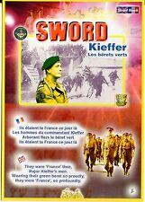 """WW2 - Carte postale - SWORD - Kieffer - Les Bérets verts """"Ils étaient la France"""""""