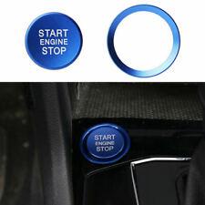 Comienzo del motor deje de pulsar Interruptor Botón Cubierta Anillo Trim Para VW Golf Jetta 7 MK7