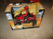 Kids Stuff Kawasaki KFX 450R Radio Controlled 27 MHZ 1:8 Scale ATV MIB