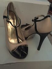 Stiletto T Bars 100% Leather Sandals & Beach Shoes for Women