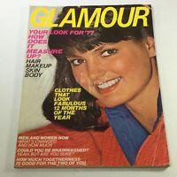 VTG Glamour Magazine: January 1977 - Barbara Minty Newsstand/No Label