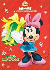 Disney Minnie Mouse Christmas Coloring Book ~ I Love Surprises