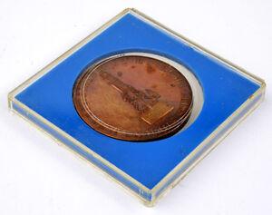 """Carl Zeiss Medaille  """"NOTKLIPPE DER STADT AUDENARDE 1582"""" im Original ETUI TOP !"""