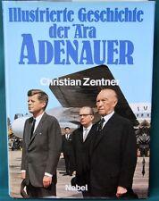 Geschichte der Ära Adenauer - illustrated post WW II Germany - German history