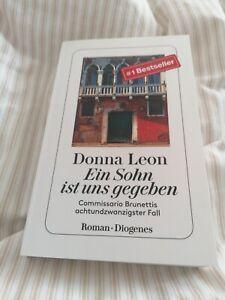 Donna Leon Ein Sohn ist uns gegeben