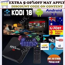 MXQ PRO KODI 18 4K 1GB 8GB Android 7.1 S905W Quad Core WiFi 3D TV BOX+Keyboard