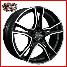 "Cerchio in lega OZ Adrenalina Matt Black+Diamond Cut 15"" Fiat GRANDE PUNTO"