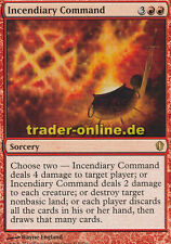 Incendiary Command (Befehl zur Brandstiftung) Commander 2013 Magic