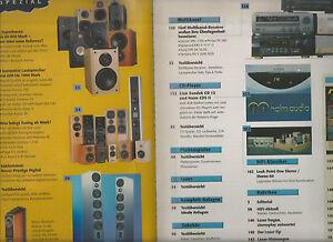 Stereoplay Revox JM Lab MB Quart Lua Piega Wilson Benesch Sony Kenwood I.Q. Jamo