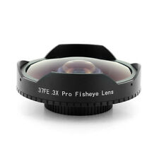 34mm Baby Death 0.3x Pro Super Wide Angle Fisheye Video Lens for Skate Boarding
