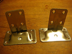 50- Removeable TABLE BRACKETS Stainless NOS Cockpit Lot of 50 Wholesale NEW