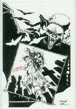 Kirk Lindo: Headhunter Print (signed) (USA)