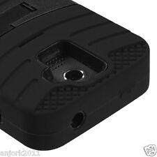 Huawei Premia 4G M931 Metro Hybrid H Armor Case Skin Cover w/Stand Black