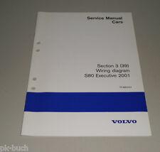 Wiring Diagrams / Schaltpläne Volvo S 80 Executive 2001