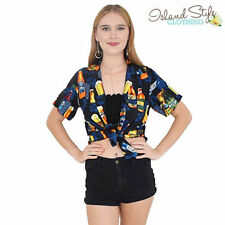 Short Sleeve Button-Down Blouses for Women