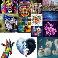 5D Diamond Painting Embroidery Cross Crafts Stitch Kit Home Art for Decor DIY