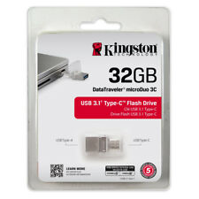 Kingston 32GB 32 GB USB 3.0 Typ-C USB Flash Laufwerk Speicherstick
