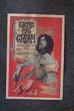 Cream Tour Poster Santa Barbara 1968 Electric Flag