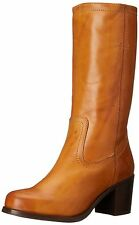 New FRYE Women's Kendall Pull On-SFG Engineer Boot Camel-75430 9.5 B(M) US