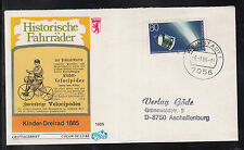 A 41 ) Germany 1986 beautiful FDC  Space, Giotto Mission, Halley`s Comet
