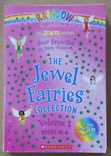 Rainbow Magic - The Jewel Fairies Collection Vol 1, Books #1-4, Daisy Meadows