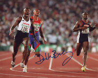 "DONOVAN BAILEY signed ""1996 OLYMPICS"" 8X10 PHOTO - GOLD MEDAL 100M Sprinter COA"