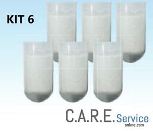 KIT 6 Pastiglie anticalcare universali per dosatori di polifosfato per caldaia