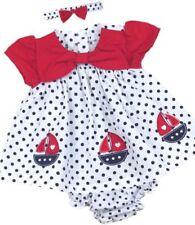 Ropa, calzado y complementos rojos con algodón para bebés
