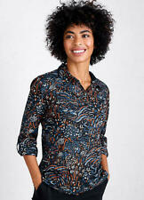 Seasalt size 16 18 20 Larissa Shirt Penwith Landscape Brand New With Tags