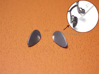 PAIR OF β TITANIUM METAL ON NOSE PADS CLIPS FOR READING GLASSES SPECTACLES 12mm