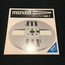 Maxell Empty Reel MR-7 Metal 7 Inch In Original Box