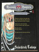 2004 Daemon Hunters #1 Manga Graphic Novel Seiuchiroh Todono VF-NM