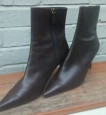 Marks and Spencer 100% Leather Cuban Ankle Women's Boots