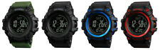 SKMEI Mens Digital Sport Waterproof Compass Pedometer Calorie Metronome Watch
