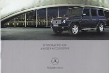 brochure 2004 MERCEDES-BENZ G 55 AMG V8 KOMPRESSOR !!!