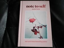 CONNOR FRANTA SIGNED - NOTE TO SELF First Hardcover Limited Edition YOUTUBE NEW