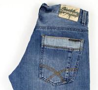 Desigual Hommes Slim Jean Taille W30 L34 AGZ97