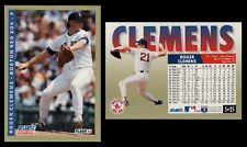 ROGER CLEMENS 1993 FLEER ATLANTIC COLLECTOR'S EDITION # 5-BOSTON RED SOX PITCHER
