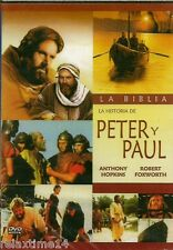 LA BIBLIA LA HITORIA DE PETER Y PAUL NEW DVD