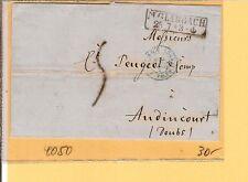 Pr Vor / M. GLADBACH Ra2 auf Pracht-Auslands-Brief m. Tax.-Stpl. n. Frankreich