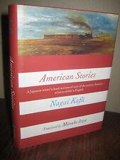 1st Edition AMERICAN STORIES Nagai Kafu TRAVEL First Printing JAPANESE Classic
