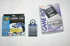 Game Boy Camera mit GameBoy Printer und PC Linkkabel - Superzustand!