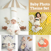 born Baby Photo Theme Set Children Photo Costume Outfits Background Prop
