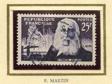 STAMP / TIMBRE FRANCE OBLITERE N° 1016 / CELEBRITE / PIERRE MARTIN COTE 3 €