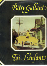 Canada Pop Rock 1974 Lp Patsy Gallant : Toi L'Enfant